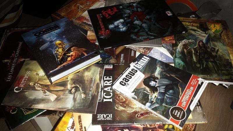 ... quelques ouvrages avec du Mahyar.