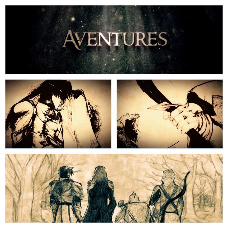 Les aventures des personnages de Théo, Grunlek, Bob et Shin.