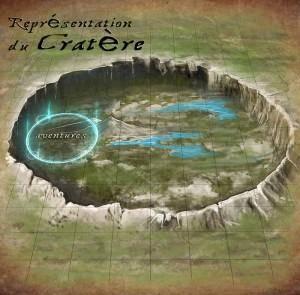 Représentation du Cratère