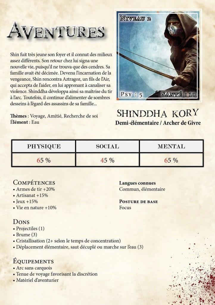 Shinddha Kory niveau 2