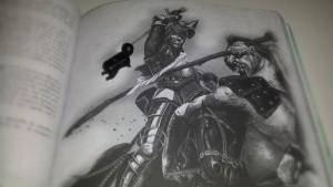 Ninja : « Mec, tu vas couper la tête de ton cheval en faisant ta connerie... »