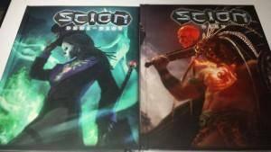 Couvertures de Scion : Demi-dieu & Scion : Dieu