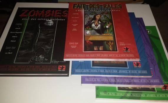 La gamme Zombies, 816 pages illustrées et mortelles !