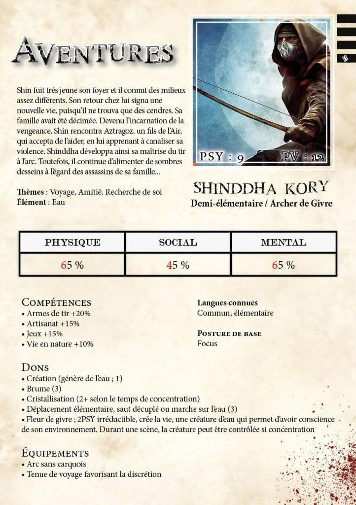 Shinddha Kory niveau 4