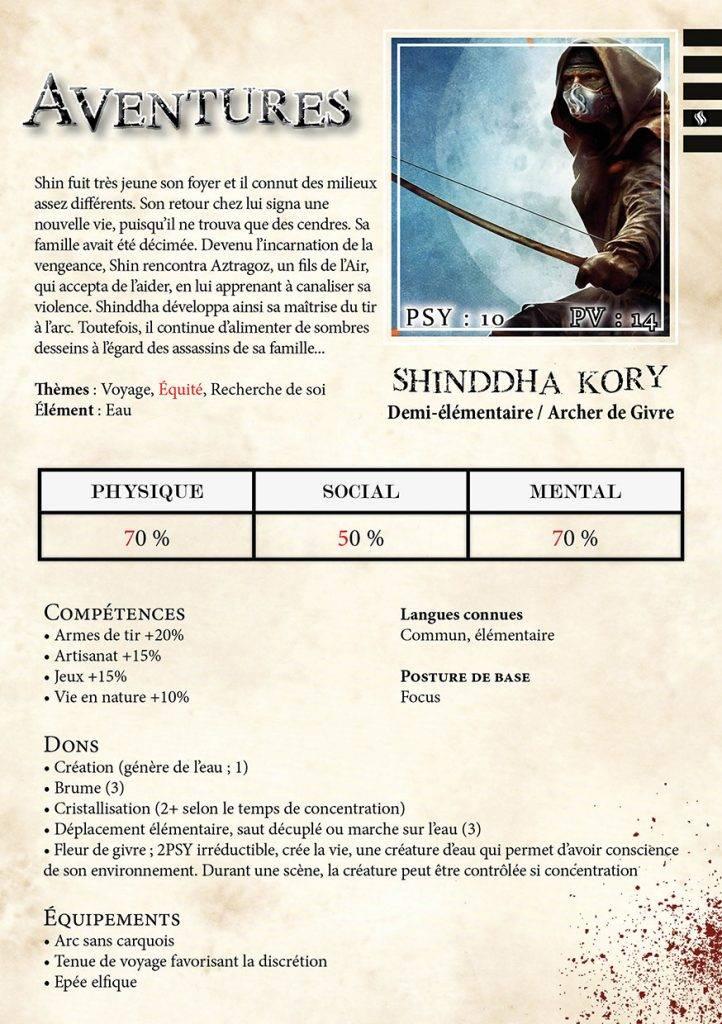 Shinddha Kory niveau 5