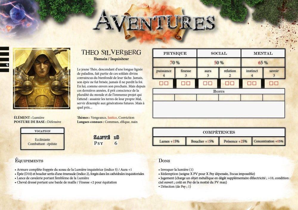 Nouvelles aventures de Théo